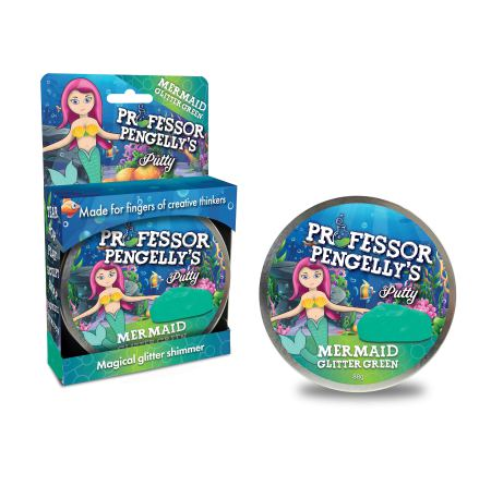 Professor Pengelly's Putty - Mermaid Green Glitter