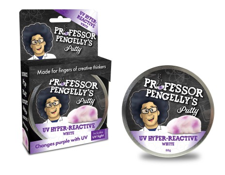 Professor Pengelly's Putty - U.V Hyper Reactive White