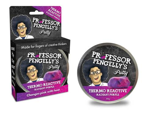Professor Pengelly's Putty - Thermo Reactive Purple