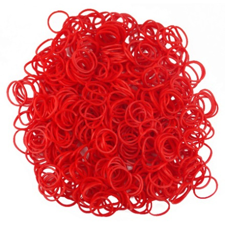 Loom Bands - Red Hot