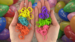 Loom Bands - Purple Pals