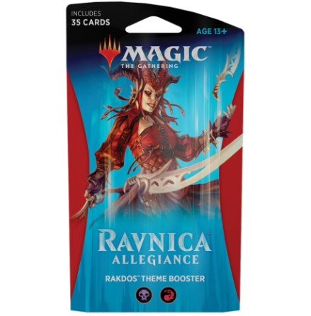 Magic The Gathering - Theme Booster Rakdos