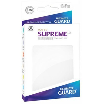 Ultimate Guard - Matt Vita plastfickor 80st