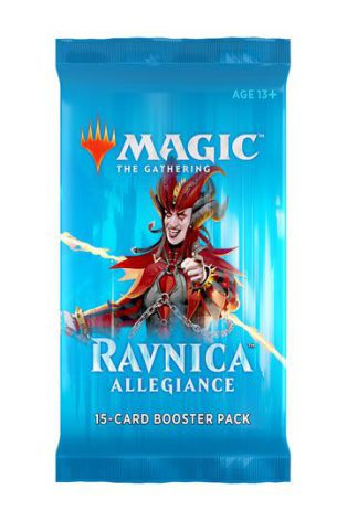 Magic The Gathering - 3st Ravnica Allegiance Boosterpacks