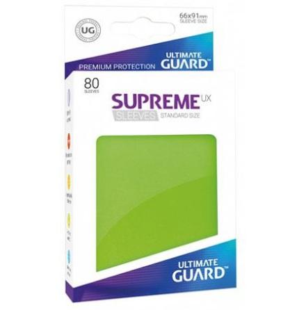 Ultimate Guard - Ljusgröna plastfickor 80st