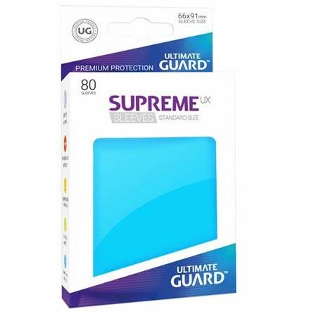 Ultimate Guard - Ljusblåa plastfickor 80st