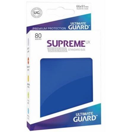 Ultimate Guard - Blåa plastfickor 80st