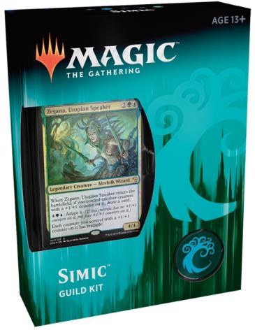 Magic The Gathering - Simic Guildkit