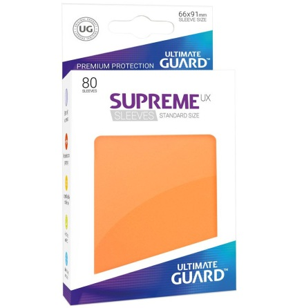 Ultimate Guard - Orange plastfickor 80st