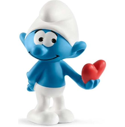 Schleich - Smurf med hjärta