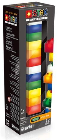 LED Byggklossar 12delar