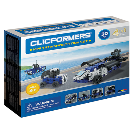 Clicformers - 4in1 DIY Transportation set