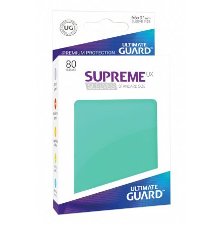 Ultimate Guard - Turkosa plastfickor 80st