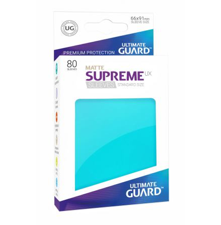 Ultimate Guard - Aquamarine Matta plastfickor 80st
