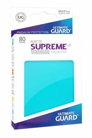 Ultimate Guard - Aquamarine Matta plastfickor 80st