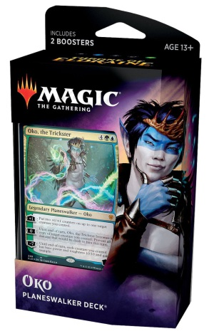 Magic The Gathering - Oko Planeswalker Deck
