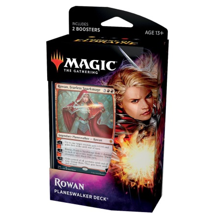 Magic The Gathering - Rowan Planeswalker Deck