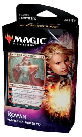 Magic The Gathering - Rowan Planeswalker Deck