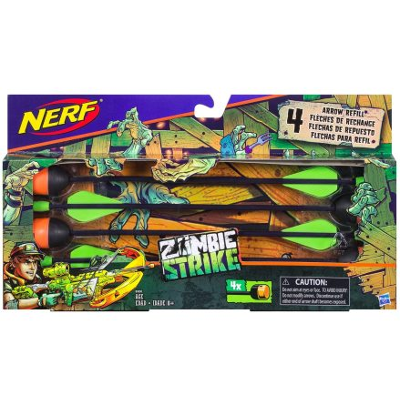 Nerf Zombie Strike Arrow Refill Hasbro
